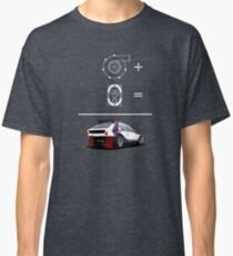 Forced Induction Equation 2 (White) Classic T-Shirt