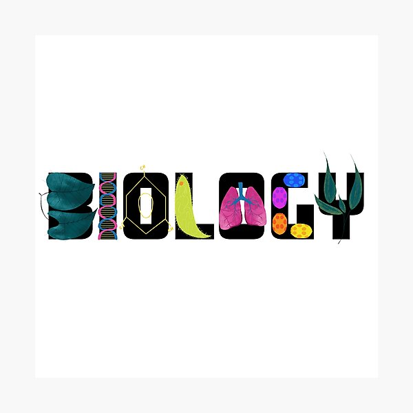 Biology Photographic Print