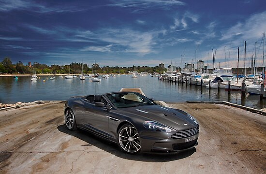 Quot Aston Martin Dbs Volante Quot Posters By Jan Glovac