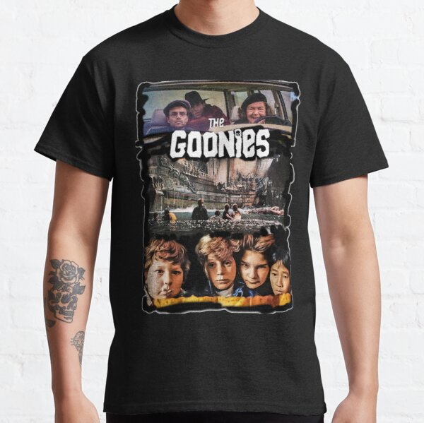 los goonies imprimen arte Camiseta clásica