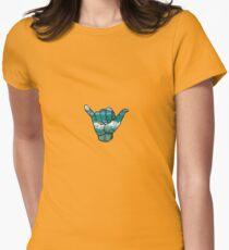 Shaka  Womens Fitted T-Shirt