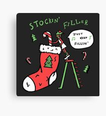 Stockin' Filler Canvas Print