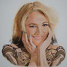 I drew Barrymore.. by Gary Fernandez