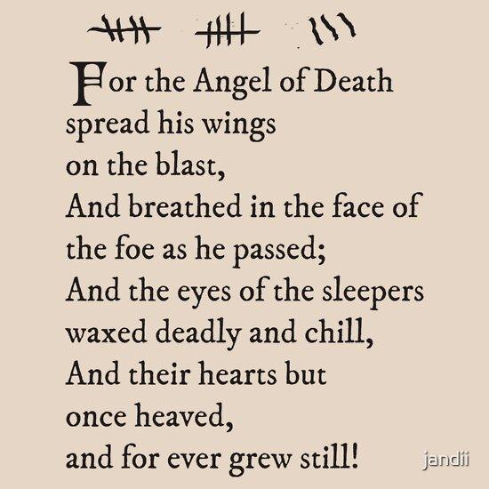 Archer Pams Tattoo Lord Byron Poem Unisex T Shirt A
