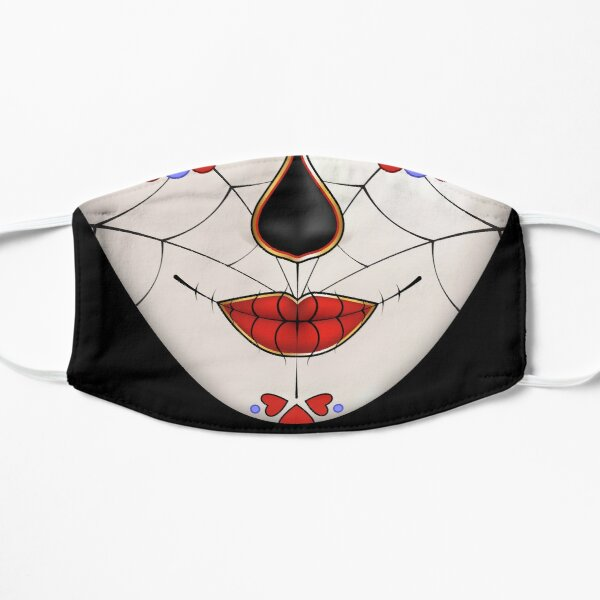 Dia de los Muertos, La Catrina Face Mask Mask