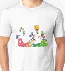 Percentum Xtreme Sports (colour) Unisex T-Shirt