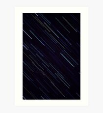 Star Trails (300mm) Art Print