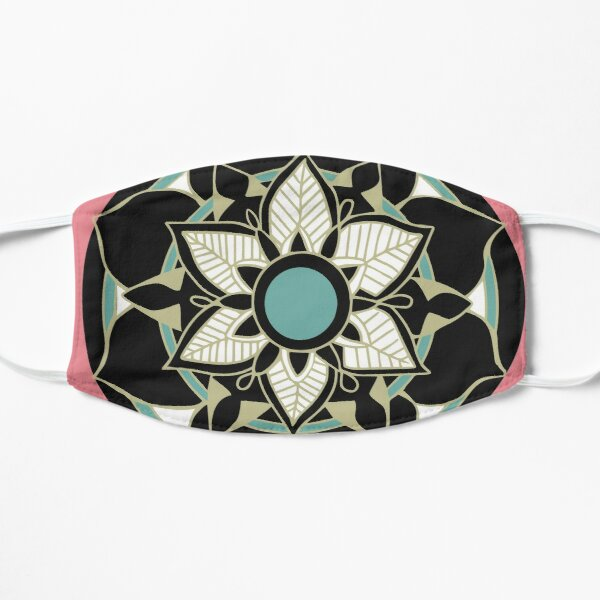 Mandalas and Flowers Mask