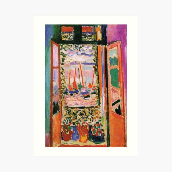 Henri Matisse | Open Window Art Print