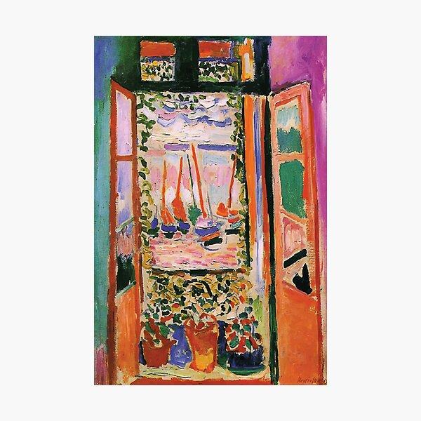 Henri Matisse | Open Window Photographic Print