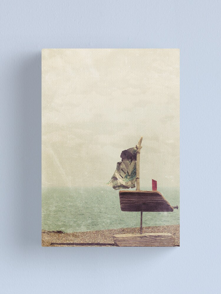 Alternate view of Boat Love Canvas Print