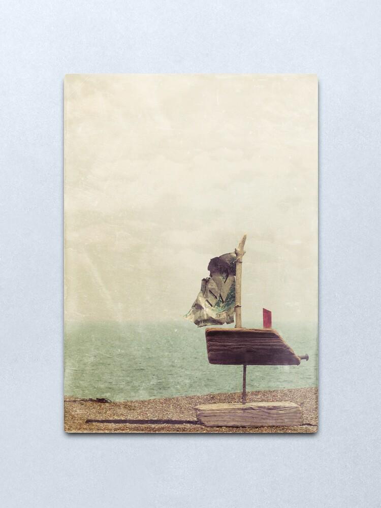 Alternate view of Boat Love Metal Print