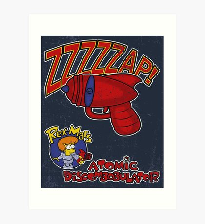 Zzzzzap! Art Print