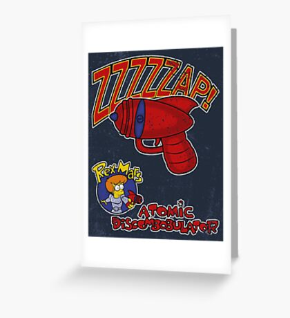 Zzzzzap! Greeting Card