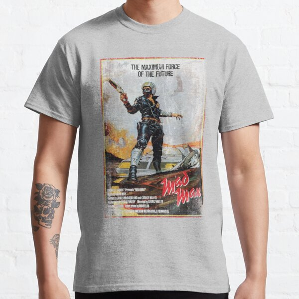 Mad Max distressed movie poster Classic T-Shirt