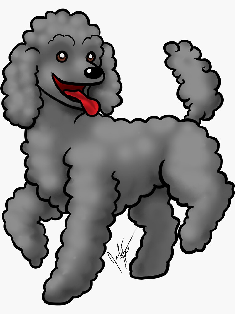Poodle Black by jameson9101322