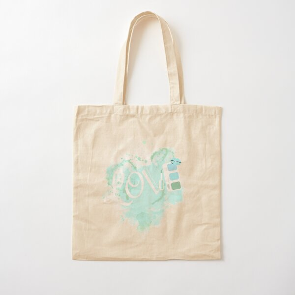 Love Make Up and What Nots  Cotton Tote Bag