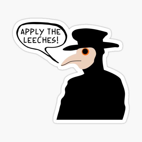 Plague Doctor Apply The Leeches Sticker