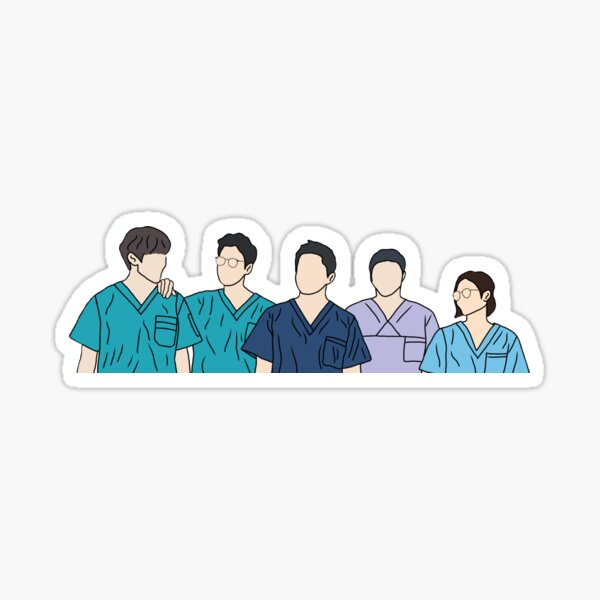 Liste de lecture de l'hôpital (KDRAMA) Sticker