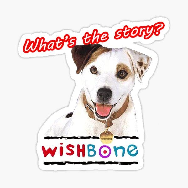 Whats the story Wishbone Tribute Sticker