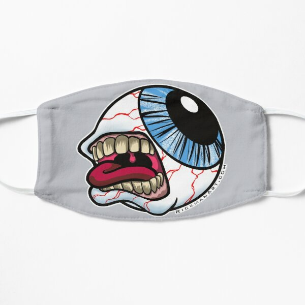 Eye Scream Flat Mask