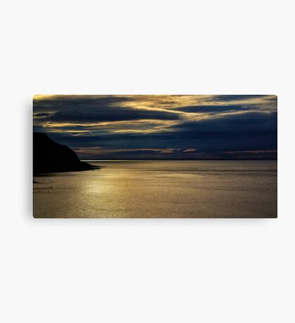 Evening on the Coast Canvas Print