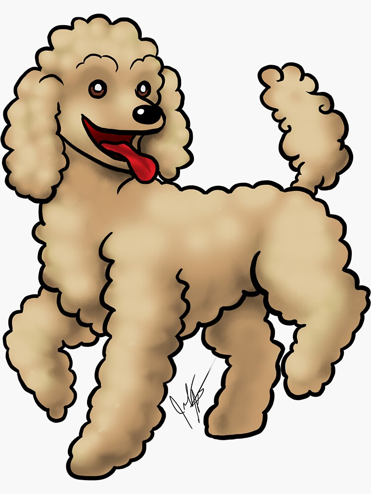Poodle - Brown by jameson9101322