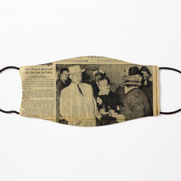 Old Newspaper Kids Mask