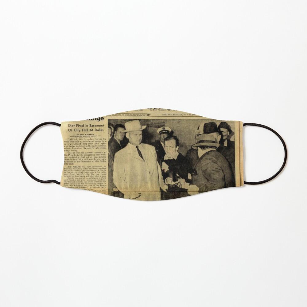 Old Newspaper Mask