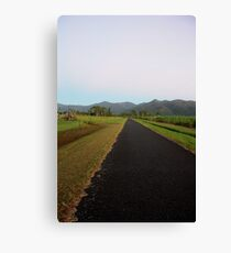 The long road... Home Canvas Print