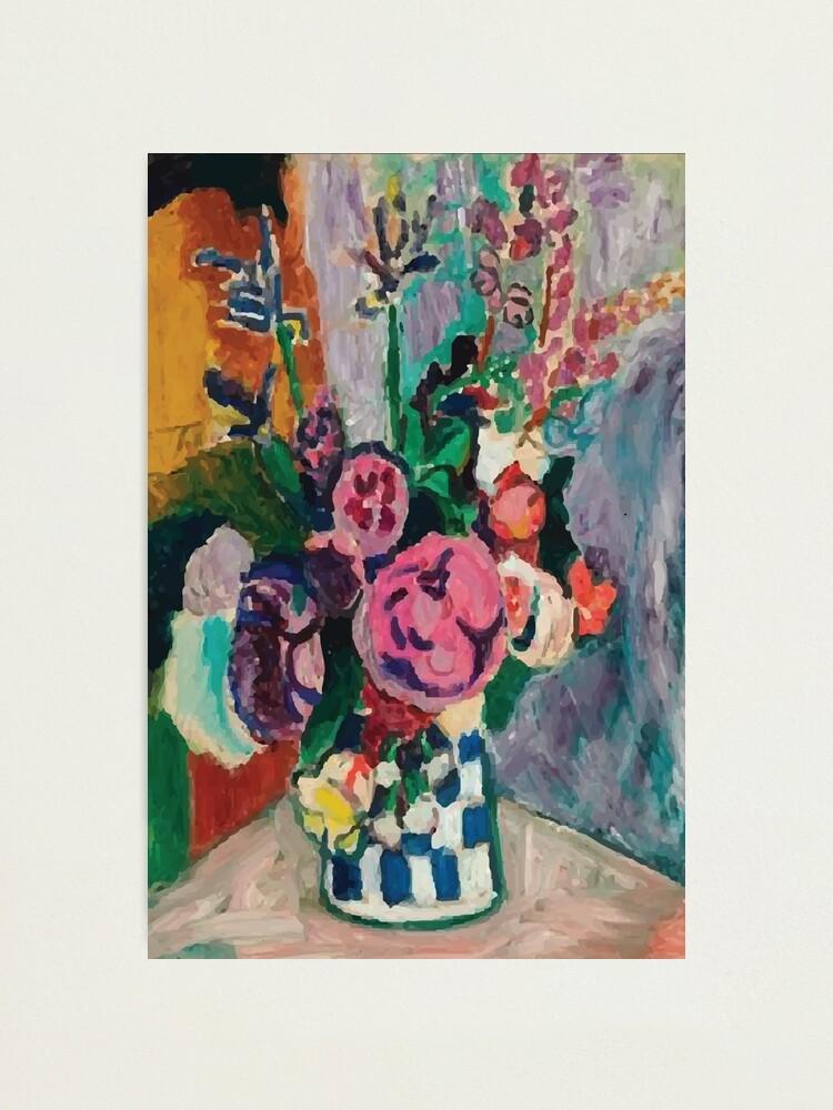Alternate view of Henri Matisse   Peonies Photographic Print