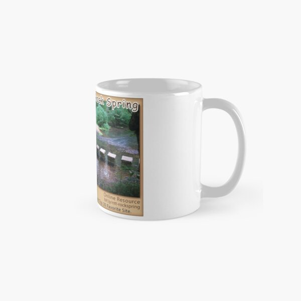 Rock Spring (summer) on the Natchez Trace Parkway. Classic Mug