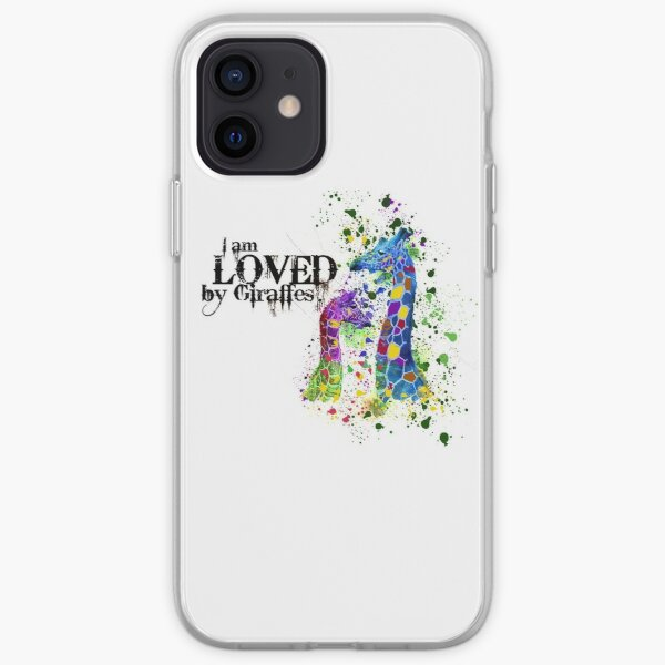 I Am Loved By Giraffes iPhone Soft Case