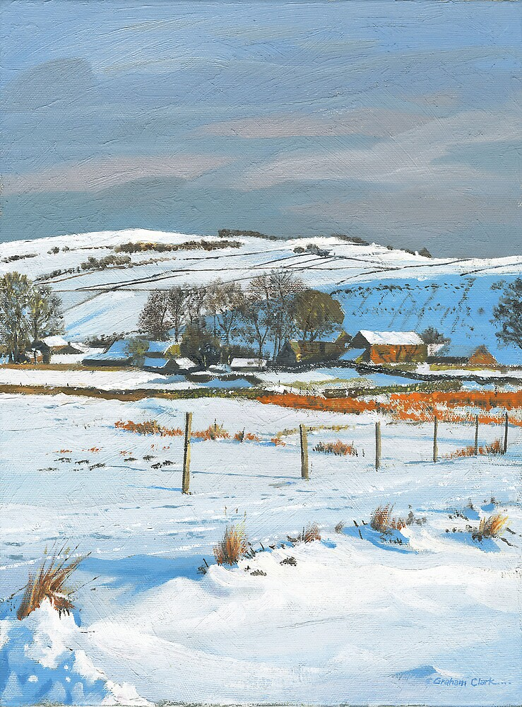 Winter on the farm by Graham Clark