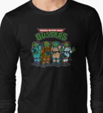 Teenage Mutant Ghost Busters Long Sleeve T-Shirt