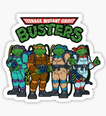 Teenage Mutant Ghost Busters Sticker