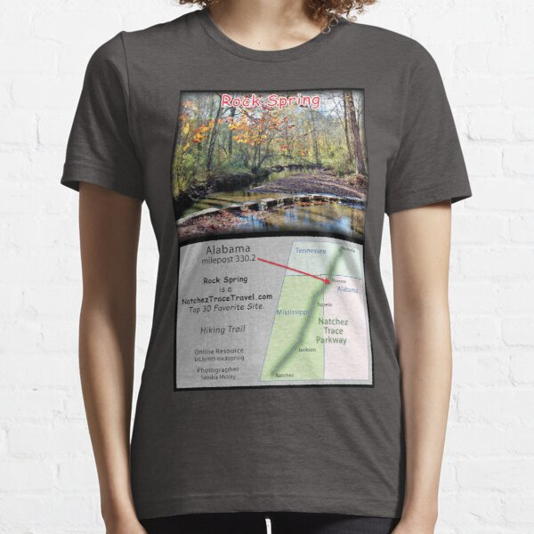 Rock Spring (fall) on the Natchez Trace Parkway. Essential T-Shirt
