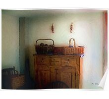 Still Life with Sewing Baskets Poster