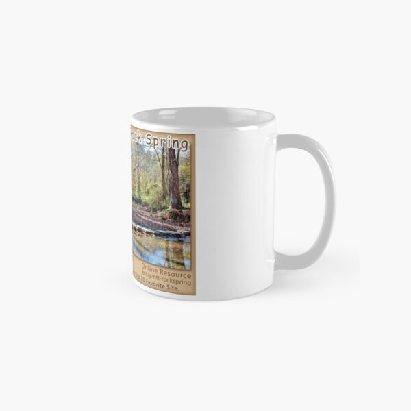 Rock Spring (fall) on the Natchez Trace Parkway. Classic Mug