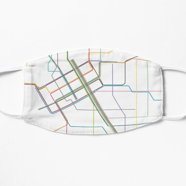 Melbourne Tram Map Mask