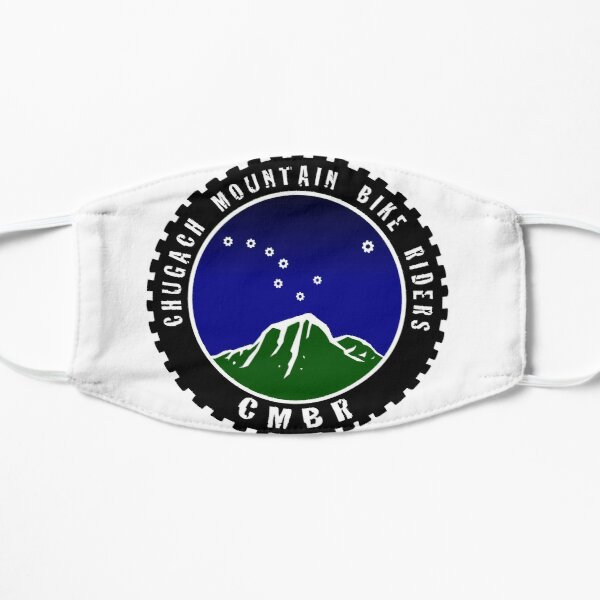 Chugach Mountain Bike Riders Flat Mask