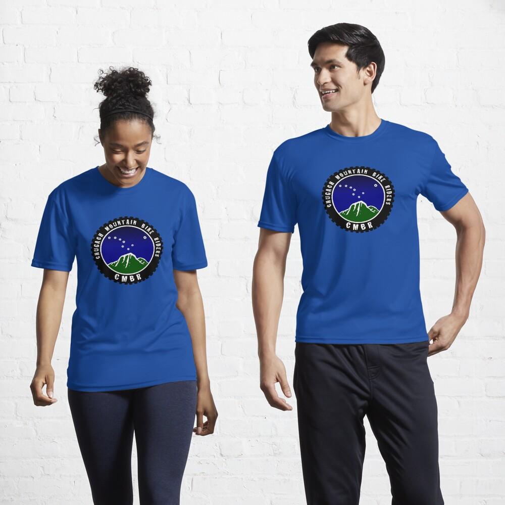 Chugach Mountain Bike Riders Active T-Shirt