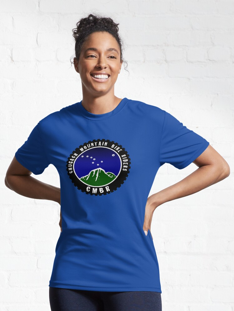 Alternate view of Chugach Mountain Bike Riders Active T-Shirt