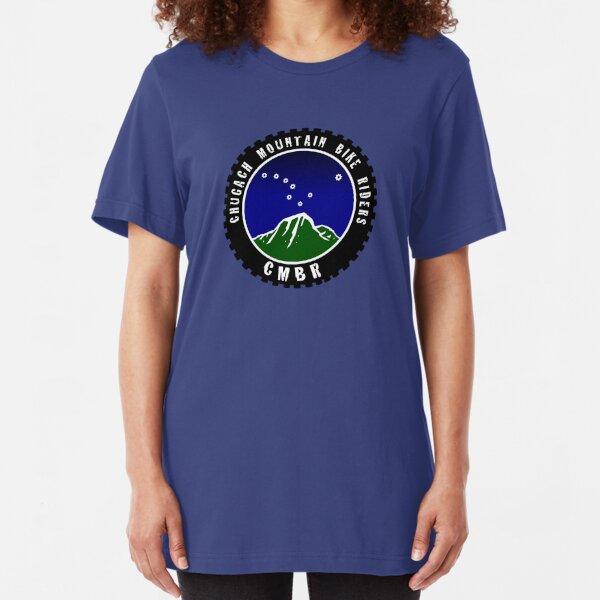 Chugach Mountain Bike Riders Slim Fit T-Shirt