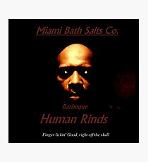 Miami Bath Salts Co. Photographic Print