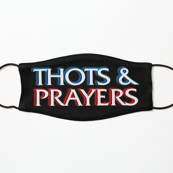 Thots and Prayers - Special Victims Edition Kids Mask
