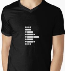 star wars (in morse code) Mens V-Neck T-Shirt