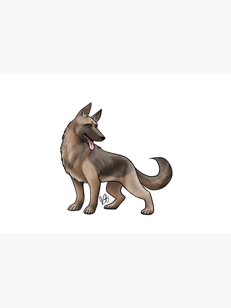 German Shepherd - Black and Tan by jameson9101322