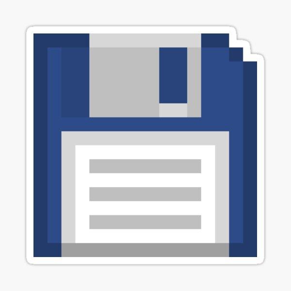 Pixel Floppy Disk Sticker