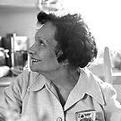 Elena Balieff in 1973 by Daniel Sorine